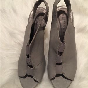 Faux leather sling back, used for sale